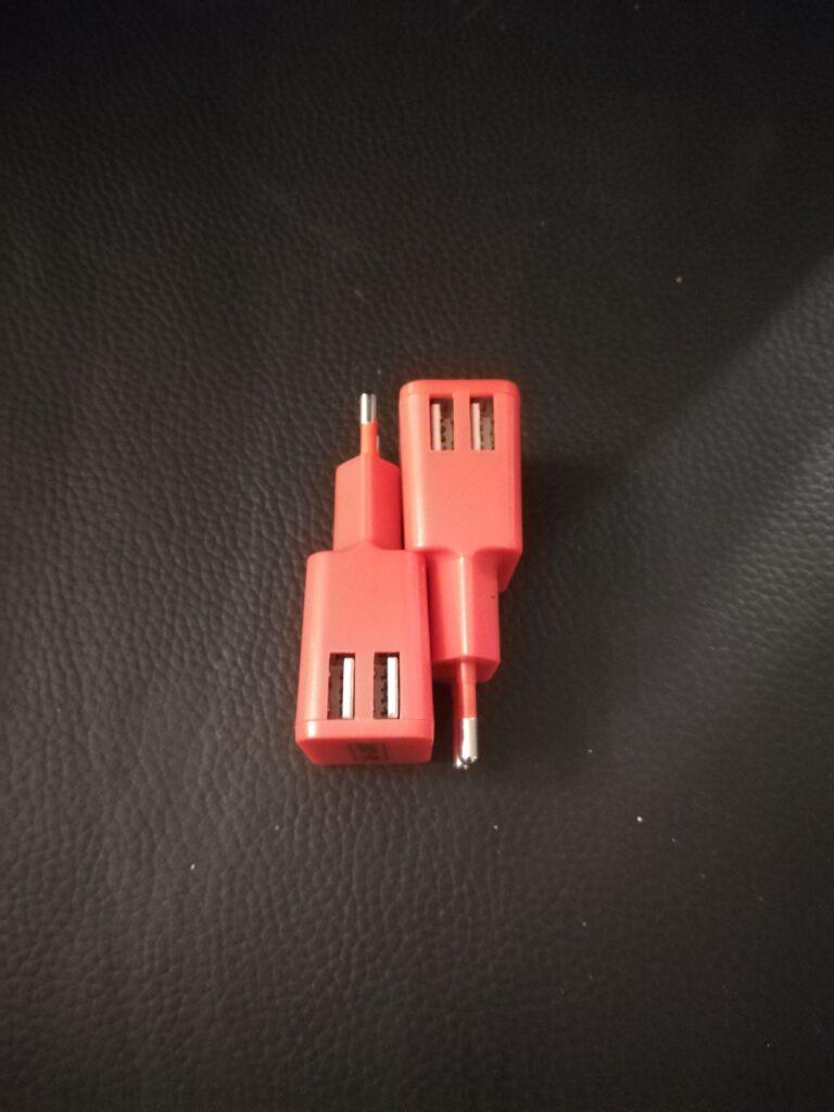 Chargeur 220V vers port USB