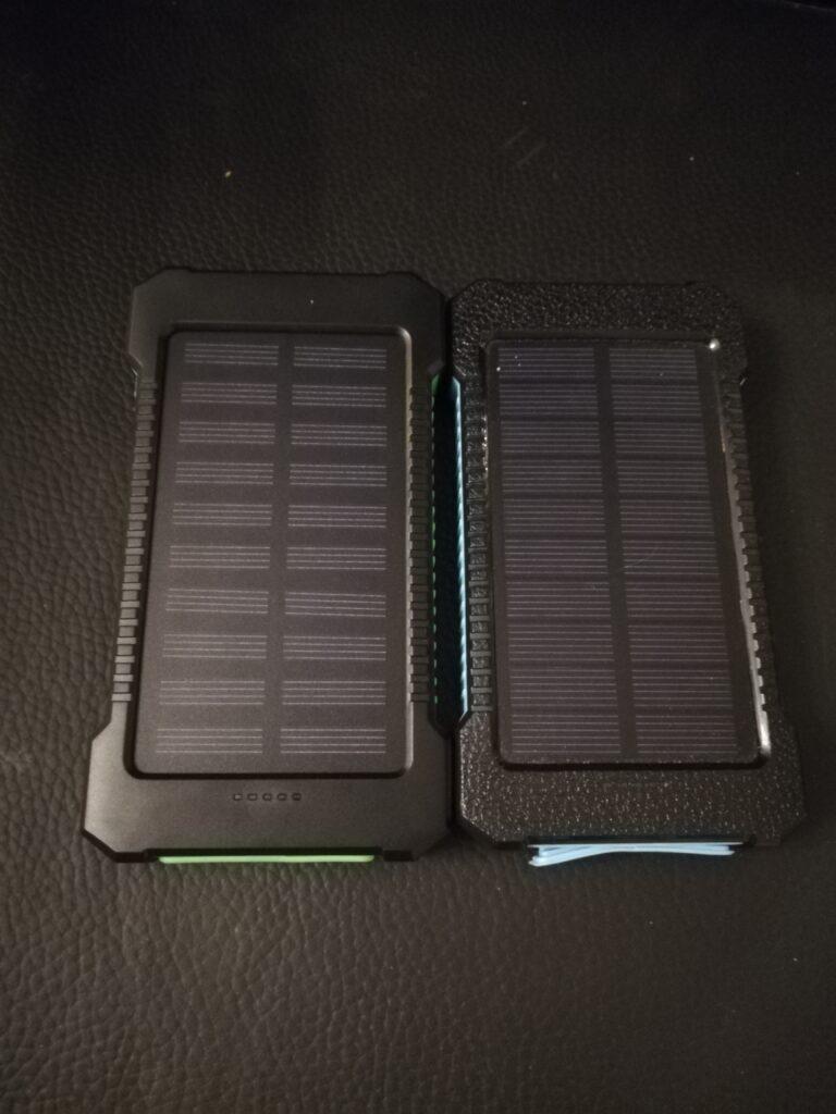 Batterie rechargeable en solaire